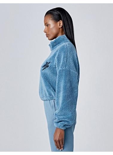 Huxel Sweatshirt Mavi